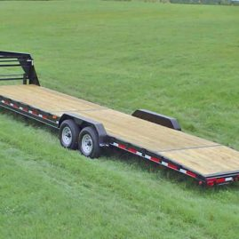 Low Profile Gooseneck Trailer