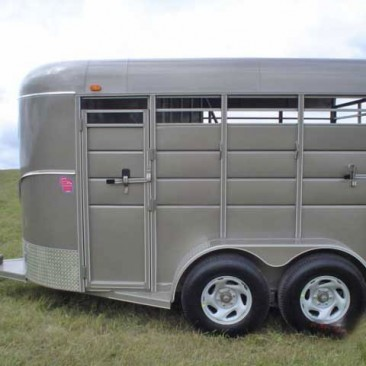 calico stock horse trailers johnson trailer co. Black Bedroom Furniture Sets. Home Design Ideas