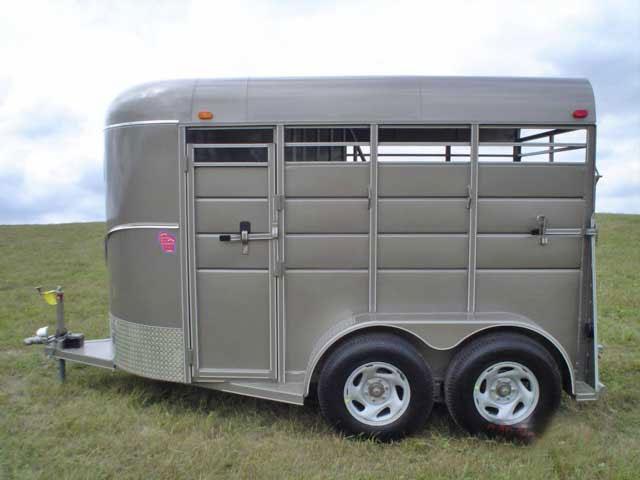 Calico Stock Horse Trailers Johnson Trailer Co