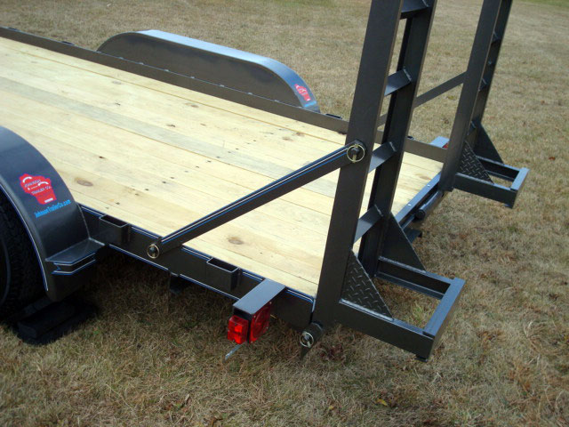 3 5 Ton Skidsteer Equipment Trailer