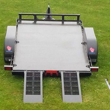 5 Ton Low Angle Tilt Bed Trailer