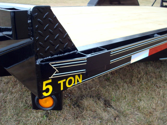 Aluminum Atv Ramps >> 5 Ton Equipment Trailer - Johnson Trailer Co.