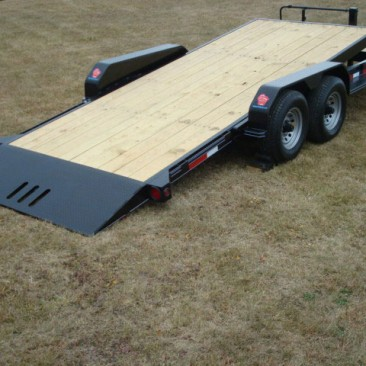 7 Ton Equipment Tilt Bed Trailer