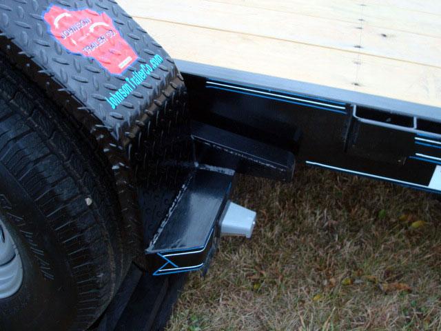 7 Ton Equipment Gravity Tilt Bed Trailer