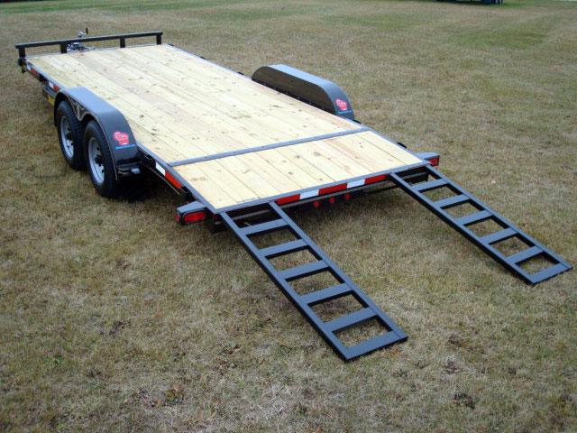 5 Ton Car Hauler Trailer - Johnson Trailer Co.