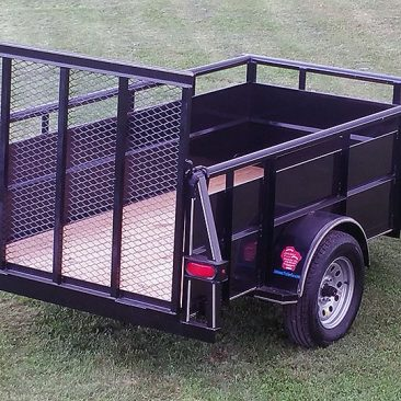 Single Axle High Side utility Trailer