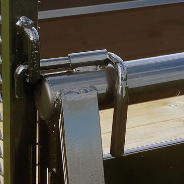 Single Axle High Side utility Trailer