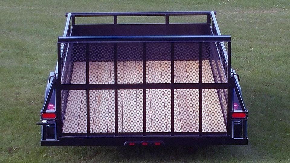 tandem axle high side trailer 07 johnson trailer co. Black Bedroom Furniture Sets. Home Design Ideas