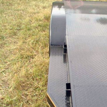 Steel Floor Car Hauler Trailer