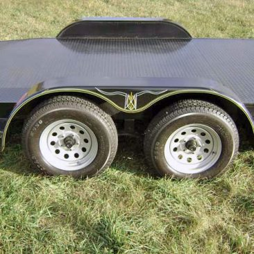 Steel Floor Car Hauler Trailer