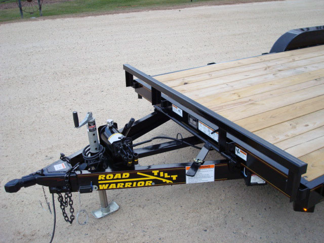 3 5 Ton Car Hauler Tilt Bed Trailer