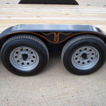 3.5 Ton Car Hauler Tilt Bed Trailer