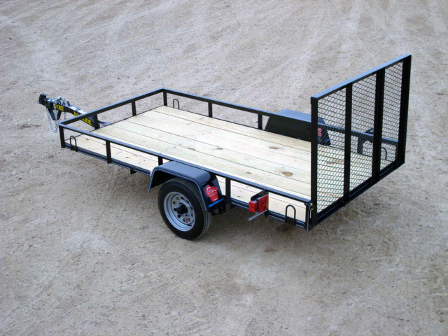 Mini-Single Axle Utility Trailer