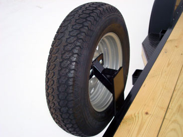 Bolt-On Spare Tire Mount