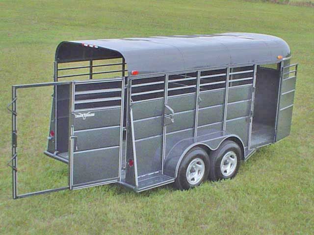 Calico Stock amp Horse Trailers Johnson Trailer Co