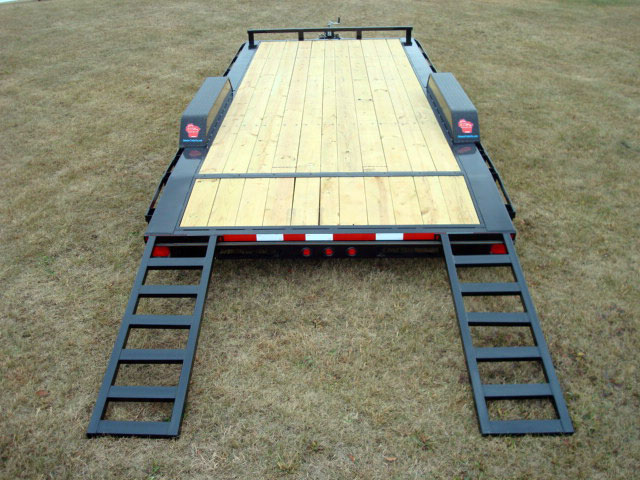 102 U0026quot  Wide Car Hauler Trailer Option