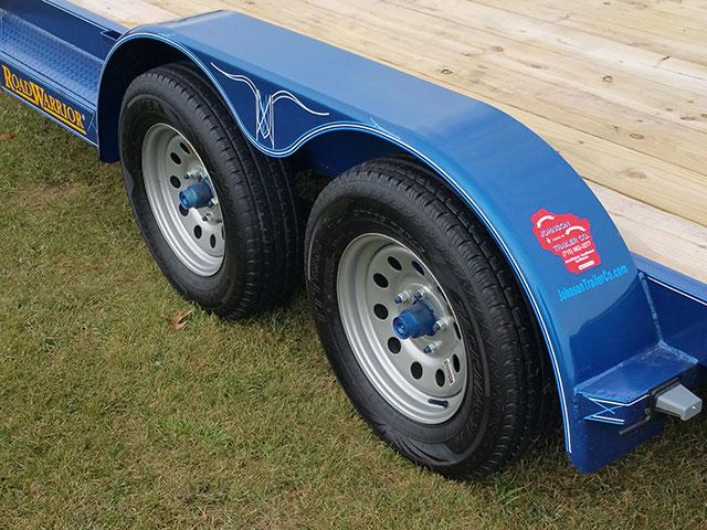 Wood Floor Car Hauler Trailer - Johnson Trailer Co