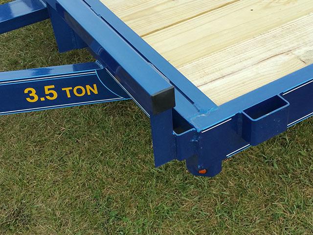 Wood Floor Car Hauler Trailer Johnson Trailer Co