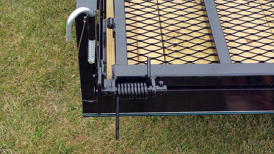 Aluminum Atv Ramps >> Single Axle Utility Trailer w/Side Ramp Pkg - Johnson ...