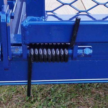 Single Axle Trailer w/Side Rails