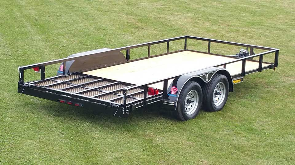 tandem axle utility trailer johnson trailer co truck 7-wire trailer wiring diagram tandem axle utility trailer