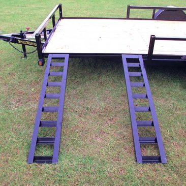 Single Axle Utility Trailer w/ ATV Pkg