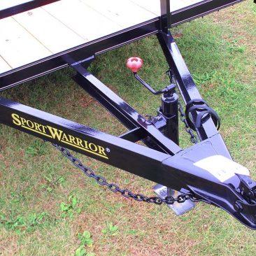 Single Axle Utility Trailer w/Side Ramp