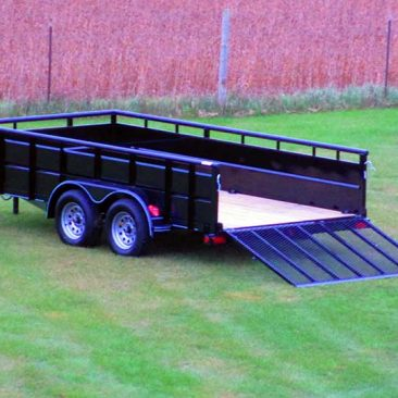 Tandem Axle High Side Trailer