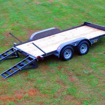 3.5 Ton Skidsteer Equipment Trailer